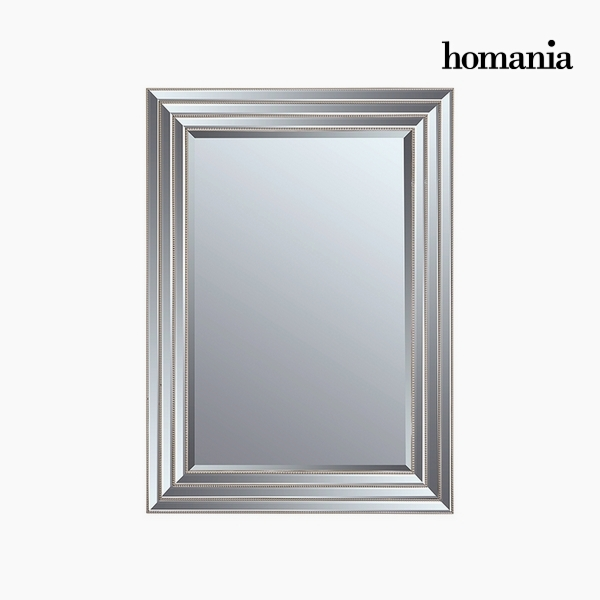 Lustro Żywica syntetyczna Szkło fazowane Srebrzysty (82 x 3 x 112 cm) by Homania