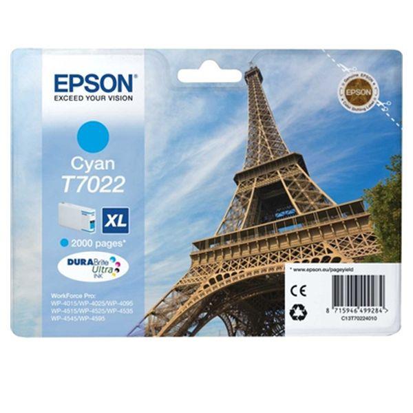 Originální inkoustové náplně Epson T7022XL