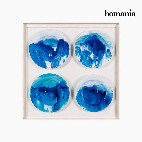 Obraz Akrylowy Talerze (91 x 91 cm) by Homania