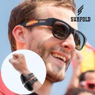 Rolovací Sluneční Brýle Sunfold Mondial Spain Black