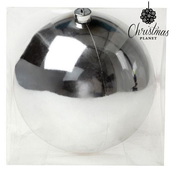 Bombka świąteczna Christmas Planet 7605 20 cm Srebrzysty