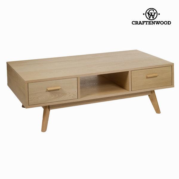 Dębowy stół centralny 2 szuflady - Modern Kolekcja by Craftenwood