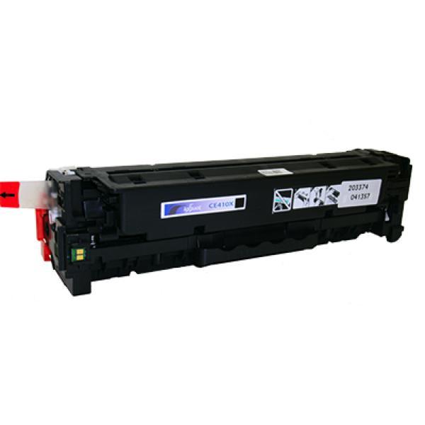 Recyklovaný toner iggual PSICE410X Černý
