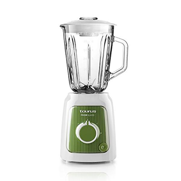 Mixér Taurus Prior Glass 1,5 L 600W Bílý Zelená