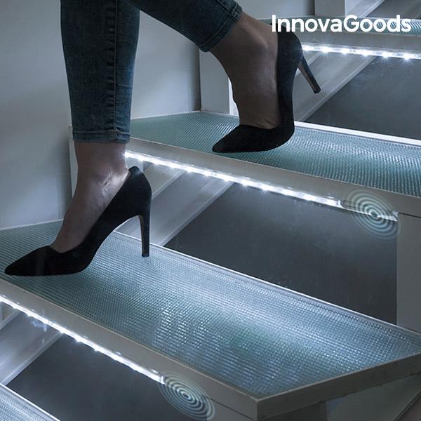 LED Trubice s Pohybovým Čidlem InnovaGoods (2 kusy)