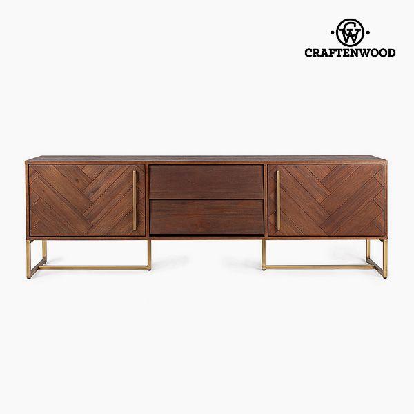 TV stolek Mdf Akátové dřevo (180 x 45 x 60 cm) by Craftenwood
