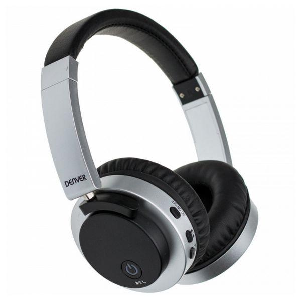 Sluchátka s Bluetooth Denver Electronics BTN-206 250 mAh Černý