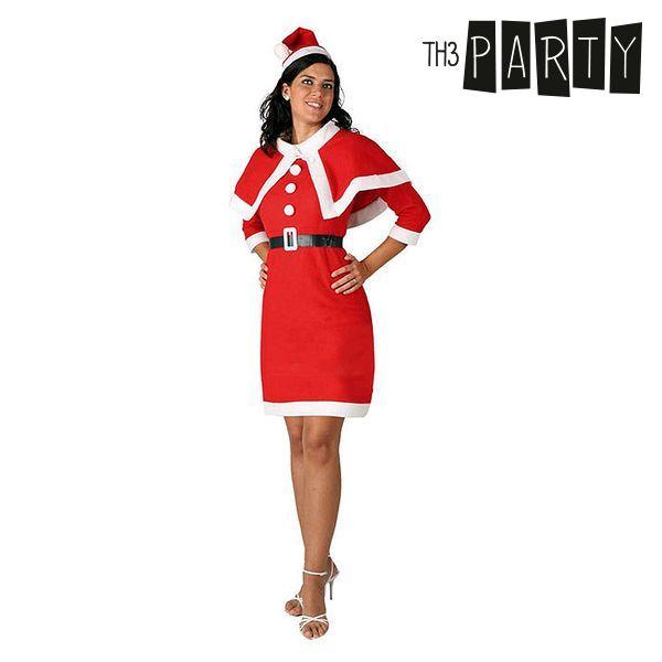 Kostium dla Dorosłych Th3 Party 2157 Dziewczyna świętego mikołaja