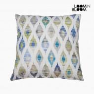 Poduszka Niebieski (60 x 60 cm) - Jungle Kolekcja by Loom In Bloom