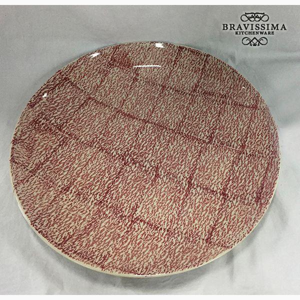 Hluboký Talíř Kamenina (37 x 37 x 4 cm) by Bravissima Kitchen