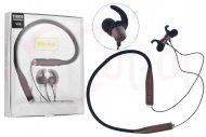 Bezdrátová bluetooth sluchátka s mikrofonem V88 - Hnědé