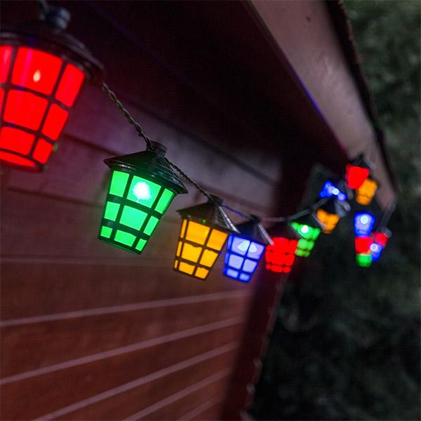 Girlanda LED Lampiony