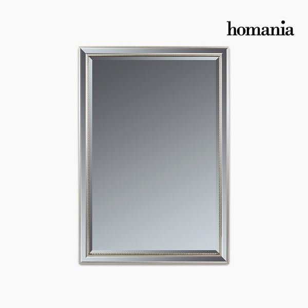Lustro Żywica syntetyczna Szkło fazowane Srebro (70 x 4 x 100 cm) by Homania
