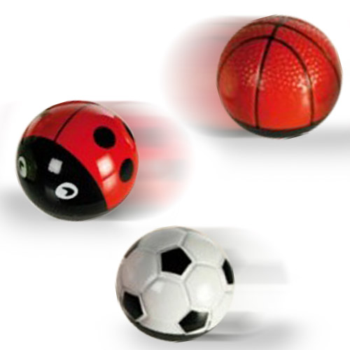 Kovový Míček na Zpětné Natažení - Fotbalový Míč