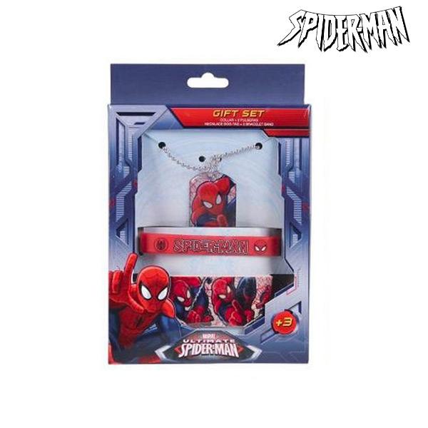 Zestaw Naszyjnik i Bransoletki Spiderman 91009