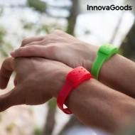 Repelentný Náramok s Vôňou Citronely InnovaGoods - Zelená