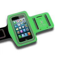Sportovní neoprenové pouzdro na telefon X-ONE 106160 Velikost L Zelená