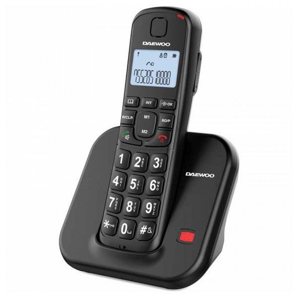 Bezdrátový telefon Daewoo DTD-7200B Černý