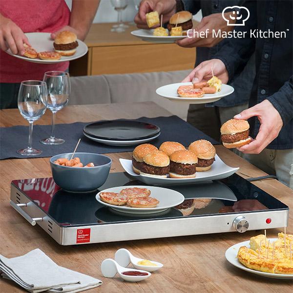 Ohřívací Tác Chef Master Kitchen Serie S 400W