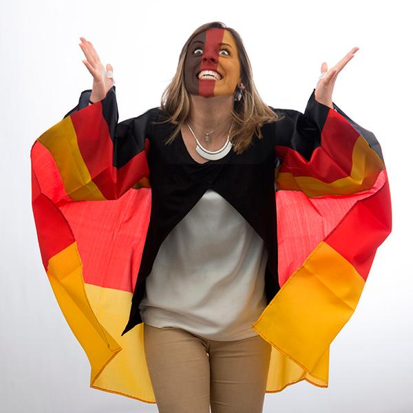 Plášť s Německou Vlajkou