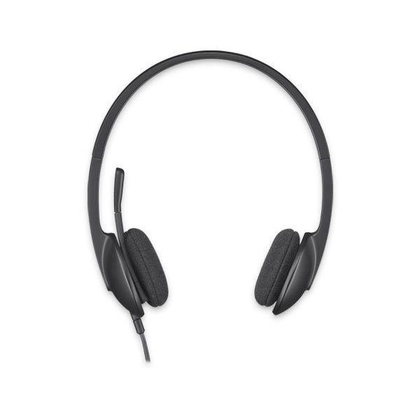 Słuchawki z Mikrofonem Logitech H340 USB 1,8 m Czarny