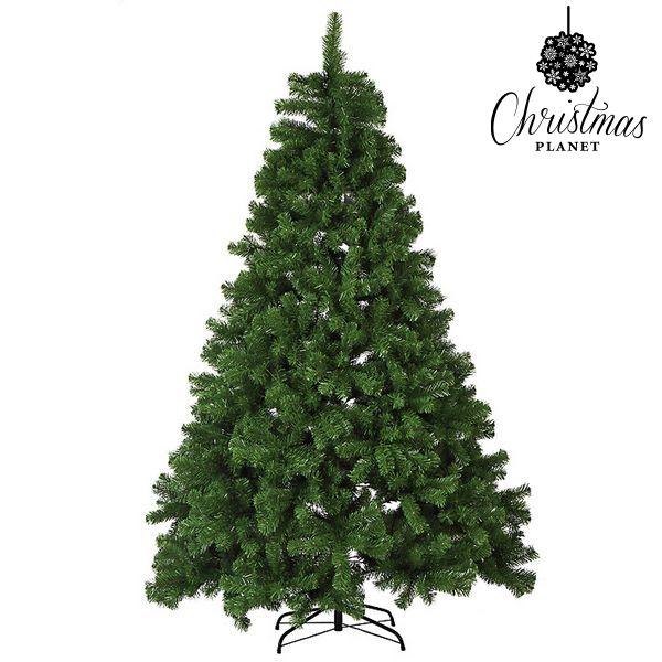 Vánoční stromeček Christmas Planet 6795 210 cm Zelená