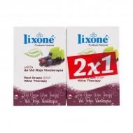 Szappan Készlet Red Grape Wine Lixoné (2 pcs)