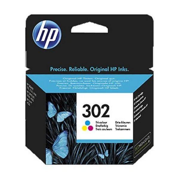 Originální inkoustové náplně Hewlett Packard F6U65AE Tříbarevná