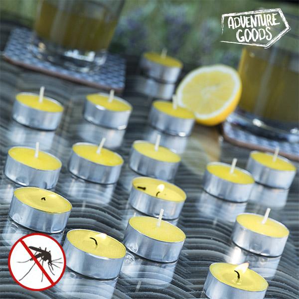 Świeca Zapachowa z Olejkiem Palczatki Cytrynowej Adventure Goods (15 sztuk)