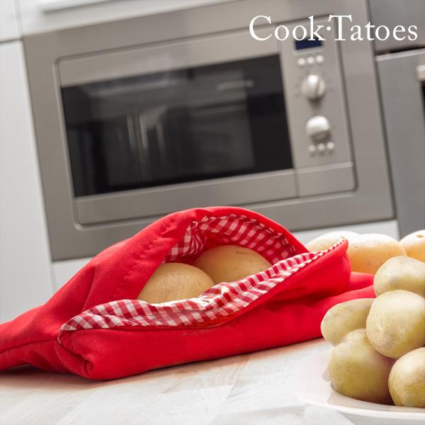 Torebka do Gotowania Ziemniaków w Mikrofalówce Cook Tatoes
