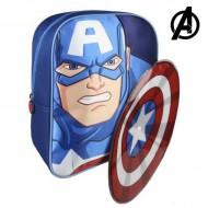 Plecak dziecięcy The Avengers 89250 Niebieski