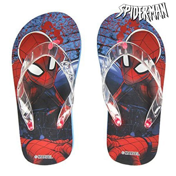 Flip-flops with LEDs Spiderman 8636 (rozmiar 27)