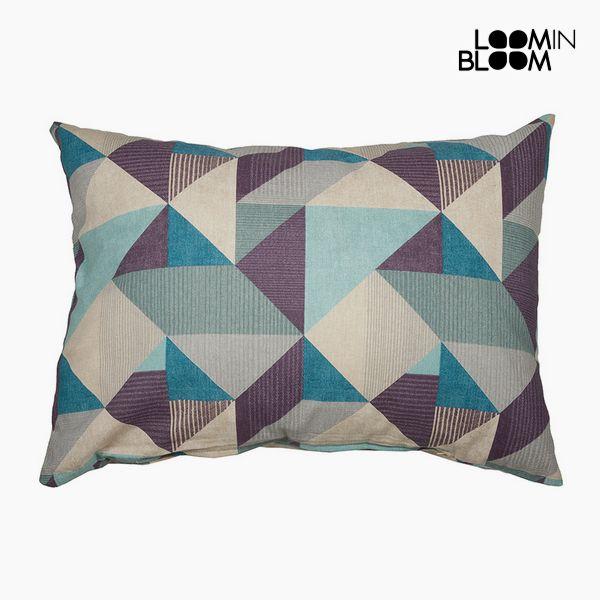 Polštářek Bavlna a polyester Modrý (50 x 70 x 10 cm) by Loom In Bloom
