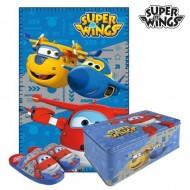 Pudełko metalowe z akcesoriami Super Wings 9668 3 pcs (rozmiar 28-29)