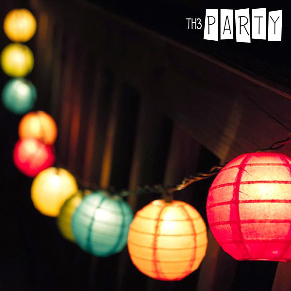 Skládací LED Lampiony Th3 Party (8 kusů)