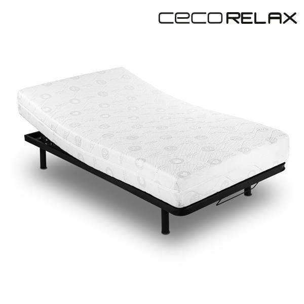 Matrace z Paměťové Pěny Cecorelax Premium (tloušťka 19 cm) - 135 x 190 cm
