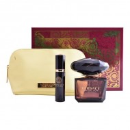Souprava sdámským parfémem Crystal Noir Versace (3 pcs)