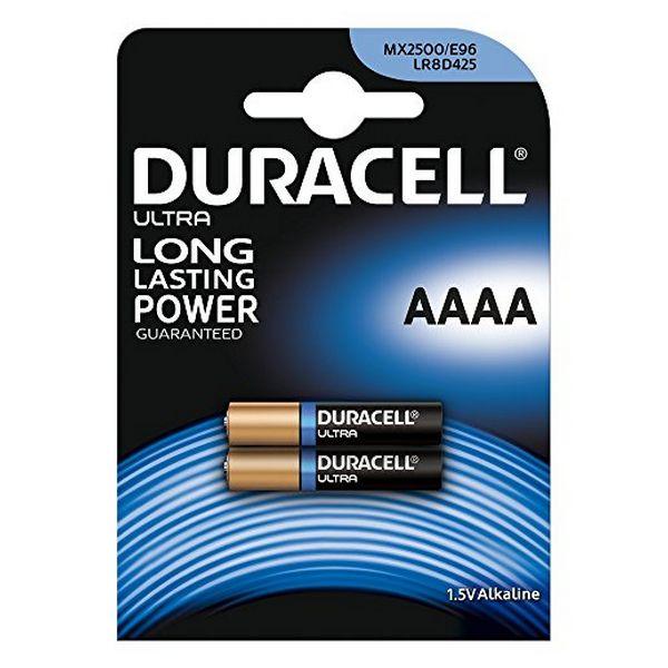Alkalické Baterie DURACELL Ultra Power DRB25002 MX2500 AAAA 1.5V (2 pcs)