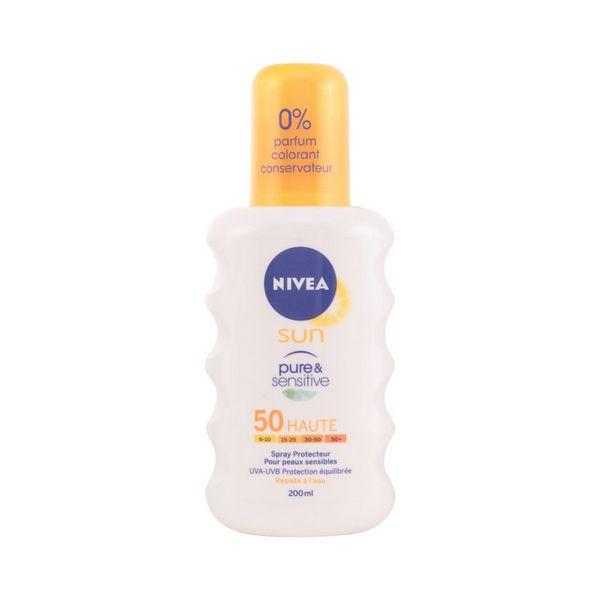 Spray do Opalania Spf 50 Nivea 1313