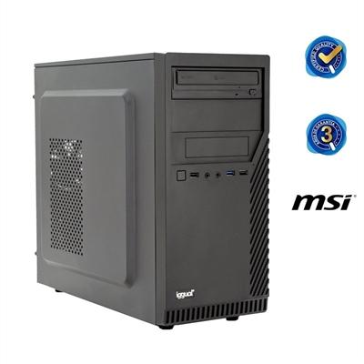 Komputer Stacjonarny iggual PSIPCH216 Intel Core i3-6100 8 GB 1 TB Windows 10 Pro Czarny