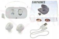 Bezdrátová Bluetooth sluchátka Xi8S TWS  EARPHONES - Bílé