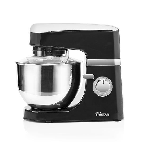 Kuchyňský Robot s Mísou Tristar MX4809PR 4,5 L 700W Černý Chrom