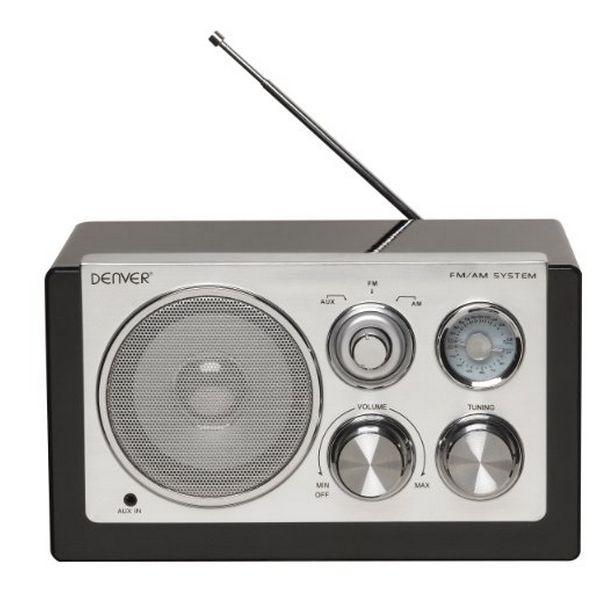 Přenosné rádio Denver Electronics TR-61 Černý