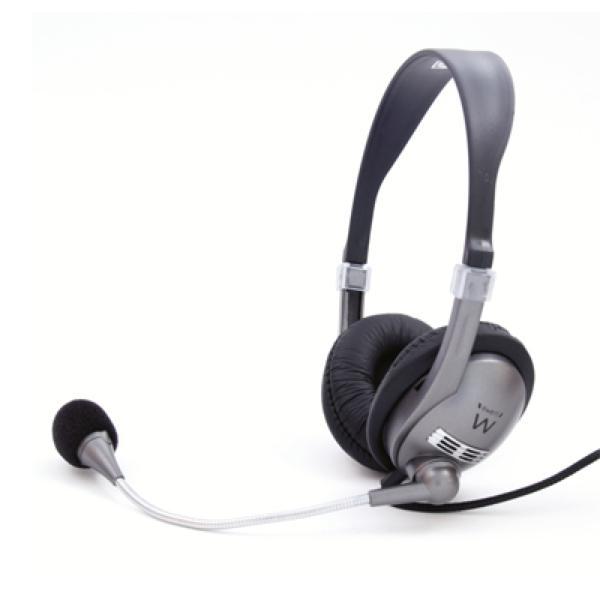 Sluchátka s mikrofonem Ewent EW3561 Černý