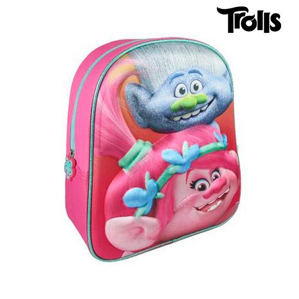 Školní batoh 3D Trolls 7976