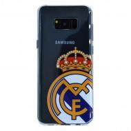 Torba Samsung S8 Plus Real Madrid C.F. RMCAR015 Przezroczysty