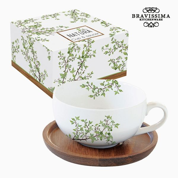 Kubek do naparów Porcelana by Bravissima Kitchen