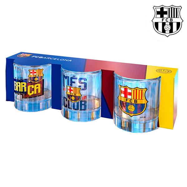 Panákové Skleničky FC Barcelona (3 kusy)