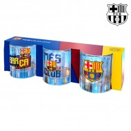 Kieliszki F.C. Barcelona (3 sztuki)