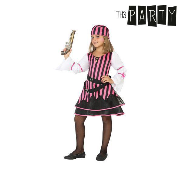 Kostým pro děti Th3 Party Pirát Růžový - 5–6 roků